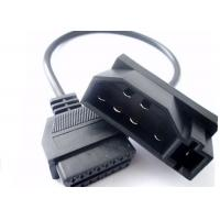 China Ford 7Pin Male to OBDII 16Pin Female Car Diagnostic Tool Adapter Converter Cable wholesale