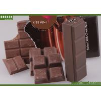 China Chocolate Design Portable USB Power Bank 18650 , Small Size Portable Phone Charger wholesale