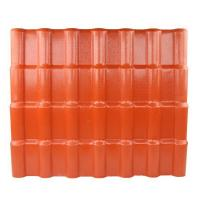 China Anti - corrosive Anti - Uv Synthetic Resin Roof Tile / Pvc Roofing Sheets wholesale