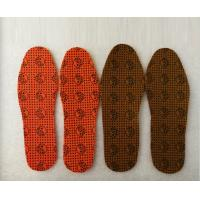 China self-heating insole far-infrared anion tourmaline shoe-pad physiotherapy insole hot insole wholesale