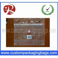 Quality Supermarket Fruit Packaging Bags / Reclosable Printed Slider Bags for sale