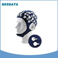 China Portable 32 Channel EEG Electrode Cap Brain Test  EEG Hat Black wholesale