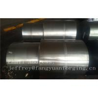 China 42CrMo4 SCM440 AISI 4140 Alloy Steel Forged Shaft Blanks Quenching And Tempering Rough Machining wholesale