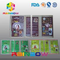 Quality Customized PVC  Shrink Sleeve Labels For Plastic Bottle Packaging for sale