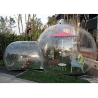 China 6m Outdoor Camping Clear Inflatable Bubble Tent wholesale