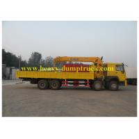 China 30T 8X4 Chassis Hydraulic Truck Cranes 10.5m Max Euro 2 Emission Standard wholesale
