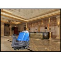 China Biggest Driving  Model Ride On Floor Scrubber Dryer Suit for Meeting Rooms wholesale
