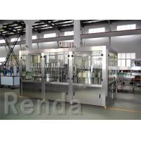 China Electric Water Washing Filling And Capping Machine / Liquid Filling Machines wholesale