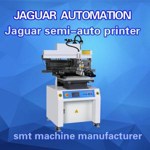 China SMT Stencil Printing Machine PCB Solder Paste Printer Semi-automatic Condition wholesale