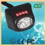 Digitable 1W 120 Lumen LED Mining Light ATEX CE 0.35A , Portable Cap Lamp