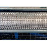China Electric Galvanized Wire Roll Mesh Welding Machine PLC Control For Construction wholesale