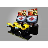 Buy cheap Real Feeling Motor Simulator Game Machine / Driving Arcade Machines from wholesalers