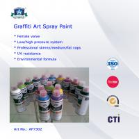 China Multi Colors 400ml Art Graffiti Spray Paint For Wall / House Decoration wholesale