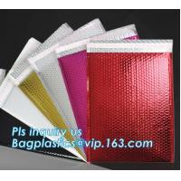 China Custom Padded Envelope Jiffy Bags Tear Proof Pink Kraft Paper Air Bubble Mailers Manufacturer, Bubble Mailers Bags Paper wholesale