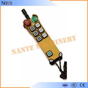 China Overhead Bridge Crane Radio Industrial Remote Controls , Crane Remote Controllor wholesale