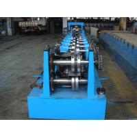 China C Z Purlin Interchangeable Steel Rolling Machine / Metal Roll Forming Machine wholesale