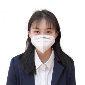 China Waterproof N95 Foldable Ffp2 Mask Five Layer Material Anti Bacterial wholesale