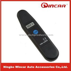 Quality LCD reading 12V Digital car Tire Pressure Gauge tester , 0.15-9.50 bar for sale