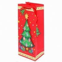 China glitter paper bags wholesale