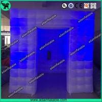 China 2.5*2.5*2.5 Wedding Inflatable Booth Tent/Lighting Decoration Inflatable Photo Booth wholesale