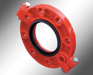 China FM UL Approved Ductile Iron Grooved flanges wholesale
