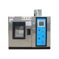China Desktop Programmable Temperature Humidity Chamber Grey Stainless Steel wholesale