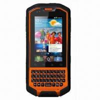 China Rugged 3G Touchscreen Smartphone with Dual SIM, IP67 Waterproof Grade and Android OS wholesale