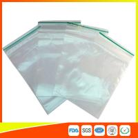 China LDPE Plastic Packing Ziplock Bags For Electronic Parts , Zippered Bags For Storage wholesale