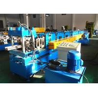 China Heavy Duty Upright Roll Forming Machine , Warehouse Storage System Rack Rolling Machine wholesale