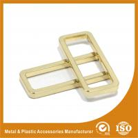 China Diameter 38X12.8X3.6MM Metal Ring Square Handbag Accessories Gold Color wholesale
