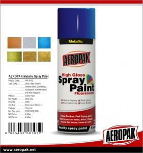 China Car Paint 400ml Tin Spray Paint  Metallic Color Spray Paint wholesale