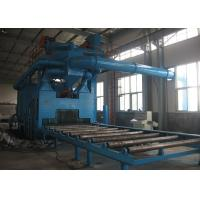China Rust Removal Shot Blast Cleaning Equipment Custom Colors With 11KW Turbine Power wholesale