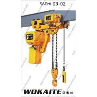 Buy cheap 3 Ton Super Low Lifting Loop Chain Electric Hoist (SSDHL03-02L) from wholesalers