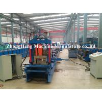 China Metal Structure C Channel Roll Forming Machine For Shaft Bearing Steel 24 m / min wholesale