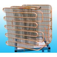Quality 0.7mm Copper Coated Cold Refrigeration Evaporators Bending for sale