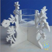 China CH (20) Acrylic taper candle holder wholesale