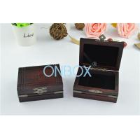 China Matt Painting Finish Ancient Style Wooden Display Box For Jewelry / Gift wholesale