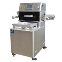 China Semi Automatic Map Tray Sealing Machine Skin Packaging Equipment Stainless Steel on sale