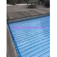 Buy cheap Automation Swimming Pool Control System Inground Type Pool Covers With Polycarbonate Mat from wholesalers