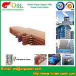 China Boiler Unit CFB Boiler Superheater Platen Superheater High Heating Efficiency wholesale