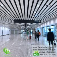 China Pre Paint  Aluminum Ceiling Tiles , Exterior Aluminum Ceiling Panels 6000mm Max Length wholesale