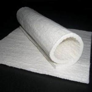 China White color 25mm thickness fiberglass needle mat used for insulation wholesale