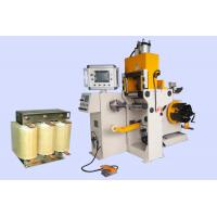 China 200mm Width Automatic Copper Foil Coil Winding Machine With Cold Pressure Welding on sale