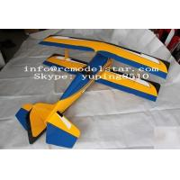 China Pitts 50cc 71in Blue-Yellow RC Model Airplane Ultra Light For Children wholesale