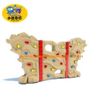 China Kids Outdoor Rock Climbing Wall , Amusement Park Rock Wall Climbing For Kids on sale