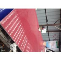 China Red Crystal Artificial Stone Quartz for Tile ,Slab , Countertop wholesale