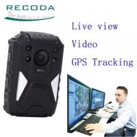 China Security Guard Wireless 4G Body Camera Live View 1440P Weatherproof For  Police wholesale