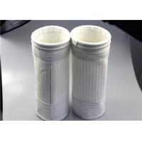 China Industrial Felt Dust Collector Bags Excellent Hydrolysis Stability Singed Finished wholesale