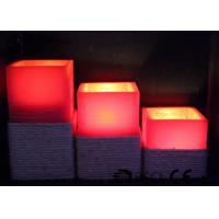 China Warm White Electric Led Candles Set Of 3 Paraffin Material EL-016 wholesale
