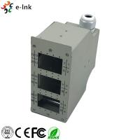 Buy cheap 24 Ports Industrial DIN-Rail Fiber Patch Panel from wholesalers